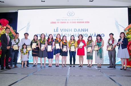 Hội Nghị Khách Hàng Công ty TNHH Xi Măng Khánh Hòa  26/03/2018